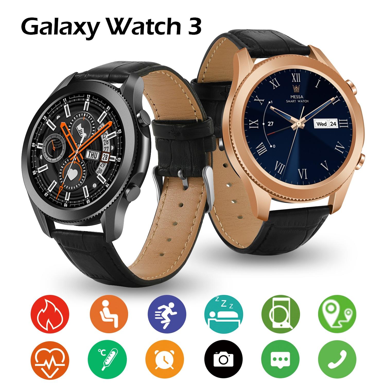 Galaxy Watch 3 Smart Watch Men Bluetooth Call Sports Watch3 Blood Pressure Heart Rate Fitness Tracker For Samsung Galaxy
