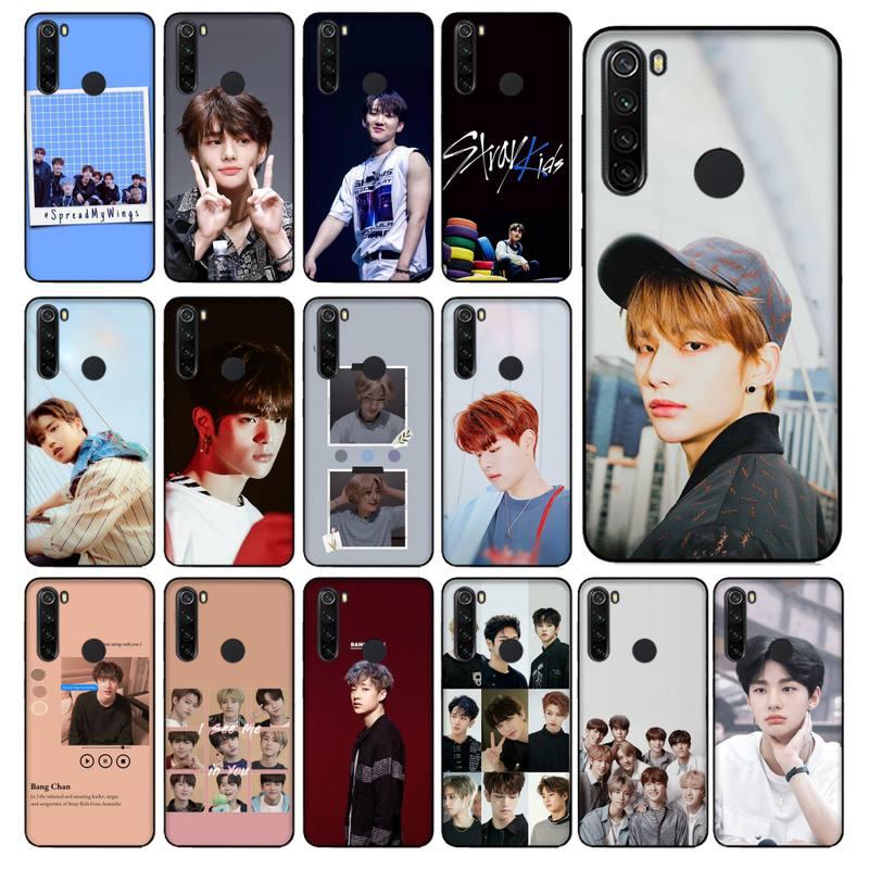 YNDFCNB felix niños perdidos hyunjin chan woojin teléfono caso Capa para Xiaomi Redmi 5 5 6 Plus 6A 4X 7 8 Nota 5 5A 7 8 8Pro