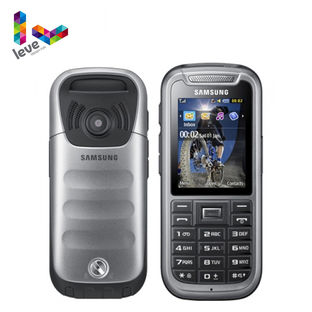 Original Samsung C3350 Phone Unlocked Samsung Xcover 2 GSM 2.2 Inches 2MP Refurbished Mobile Phone Free Shipping