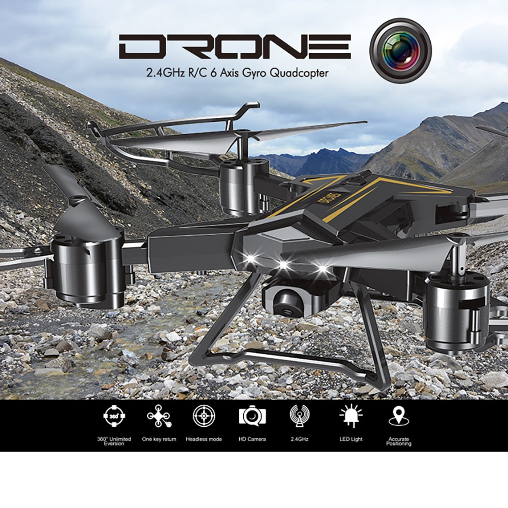 Fotografia aérea Dobrável 4-eixo giroscópio Zangão quadcopter controle Remoto real-tempo de pressão de ar altura fixa de transmissão