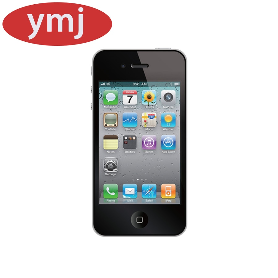 All Tested Good Used Apple iPhone 4S 4 Mobile Phone 2 Core IPS 8/16/32g Smartphone GPS Wifi iPhone 4S Unlocked icloud Cell Phone