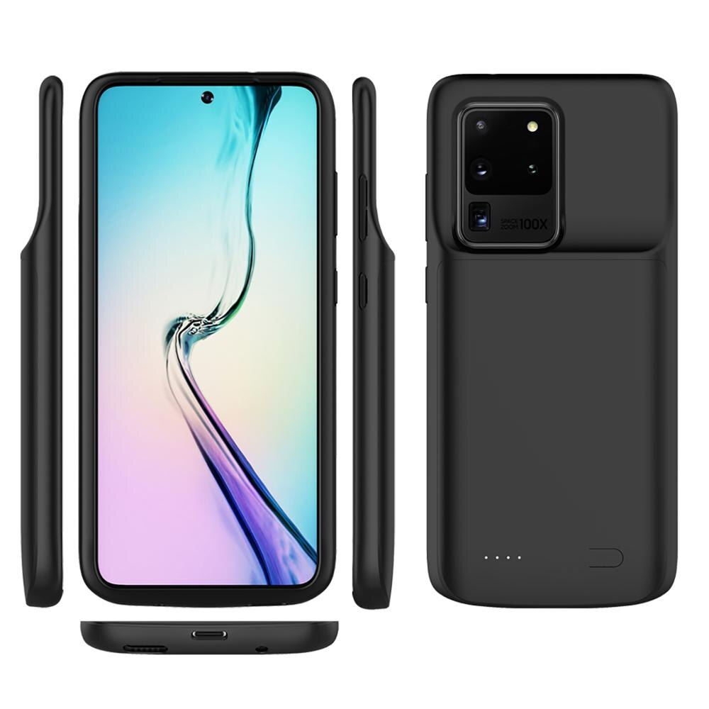 Funda de batería de 6000mAh para Samsung Galaxy S20 S20 Ultra S20 Plus, funda de batería auxiliar para Samsung S20 S20 Ultra