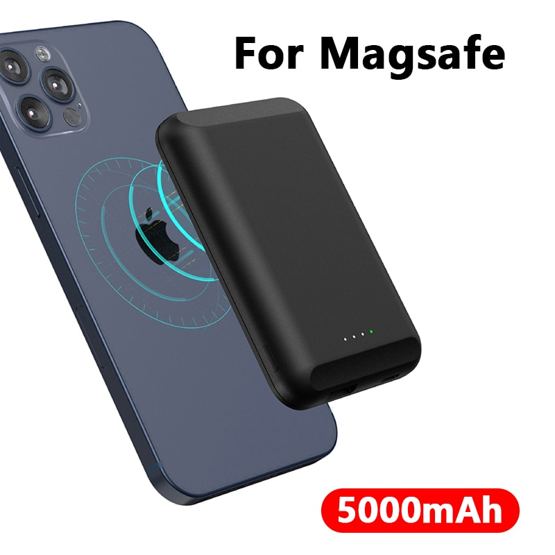 5000mAh Magnetic Wireless Power Bank For magsafe powerbank charger For apple iphone 12 12pro max xiaomi Magnet External battery