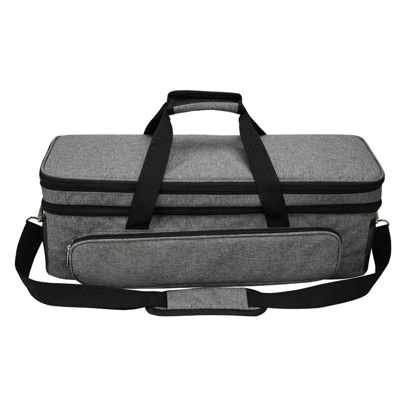 Foldable Bag Compatible with Cricut Explore Air and Maker, Carrying Bag Compatible with Cricut Explore Air and Supplies Cricut T
