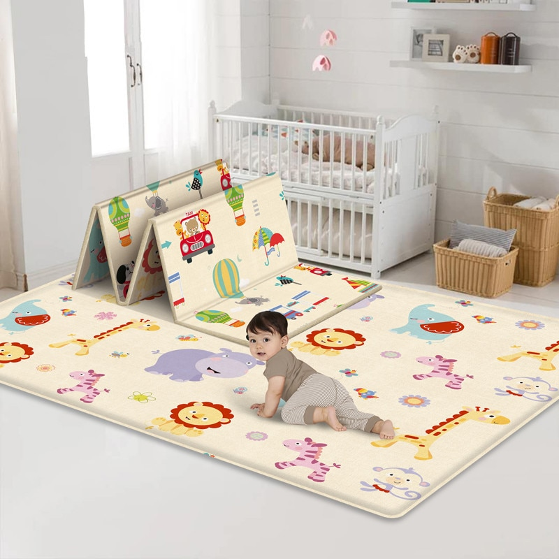 XPE صديقة للبيئة سميكة الطفل الزحف تلعب حصيرة للطي حصيرة السجاد تلعب حصيرة للأطفال سجادة/ حصيرة السلامة طفل البساط Playmat