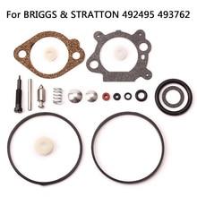 19 stücke Ersatz Vergaser Reparatur Kit Power Motor Generator Werkzeuge Für BRIGGS STRATTON Rasenmäher Teile