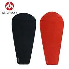 AEGISMAX Thermolite sac de couchage doublure réchauffement 5/8 Celsius en plein air Camping voyage Portable simple lit feuille serrure température