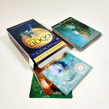 Dobre karty tarota Colette baron-reid 78 karty talii i książki