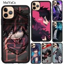 MaiYaCa Dabi mi héroe Academia TPU caso para iPhone XR X XS X Max 5S SE 2020 6 7 8 Plus 11 Pro Max cubierta Coque