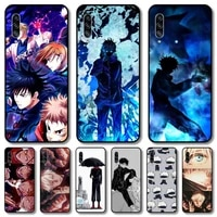 lovely anime phone case hull for samsung galaxy m 10 20 21 31 30 60s 31s black shell art cell cover tpu