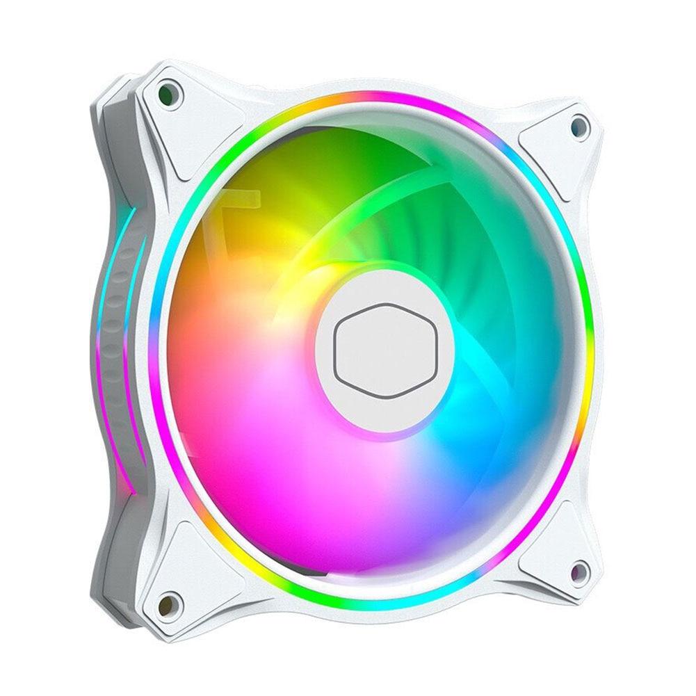 Case do Computador Ventilador de Refrigeração Cooler Auréola Duplo Loop Argb Silencioso Case Cpu Mf120 120mm