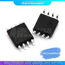 10 pcs/lot MX25L6406EM2I-12G 25L6406E SOP8 puce dordinateur portable dorigine