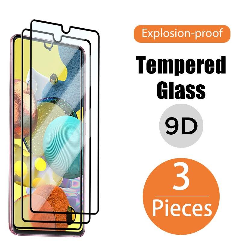 ¿Protector de pantalla de cristal para movil de cubierta completa para Samsung...