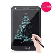 Tablette décriture LCD de 10 pouces effaçant partiellement la planche à dessin stylo épais électronique mettant en évidence les tablettes numériques avec batterie