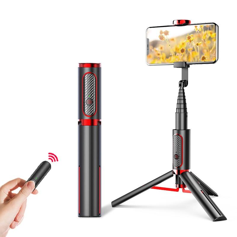 Bluetooth Selfie Stick Monopod Universal Mini trípode todo en uno integrado extraíble trípodes Selfie Sticks para Iphone