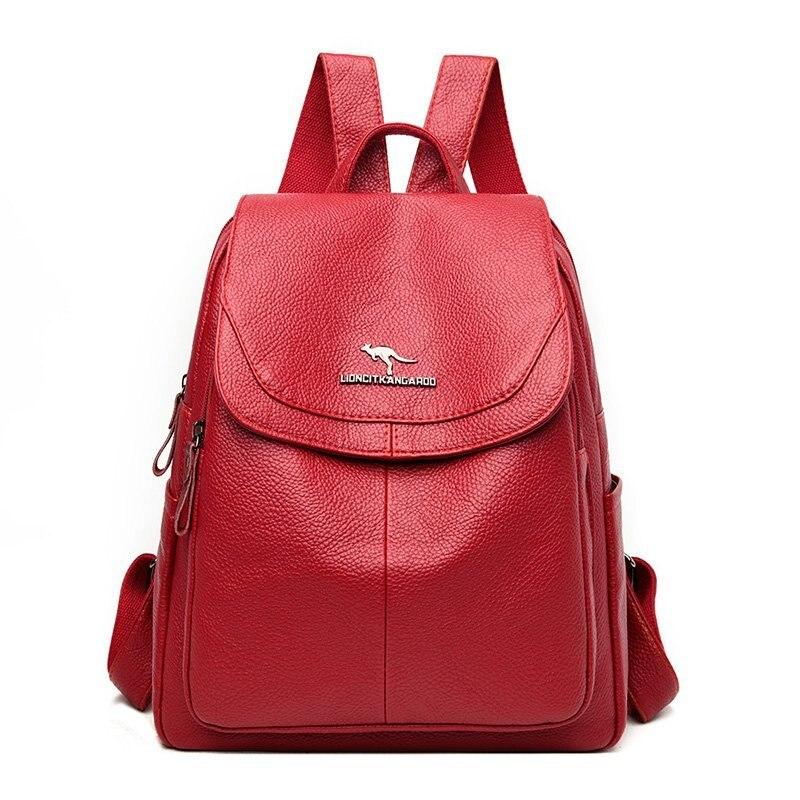 Высокое качество, женские рюкзаки, женские кожаные рюкзаки, винтажный рюкзак, женские дорожные рюкзаки для девочек, Mochilas Back Pack Sac