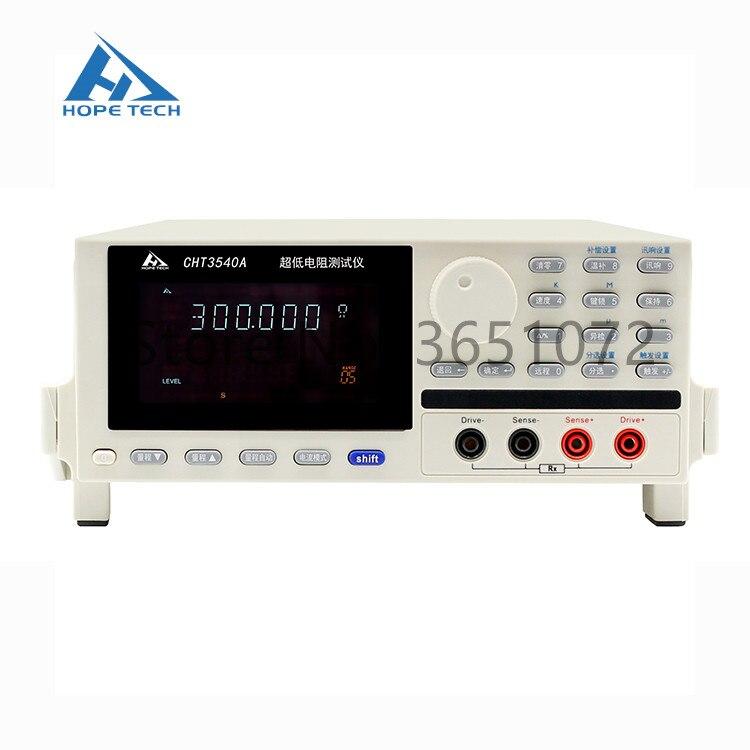 Probador de resistencia de alta precisión CHT3540A