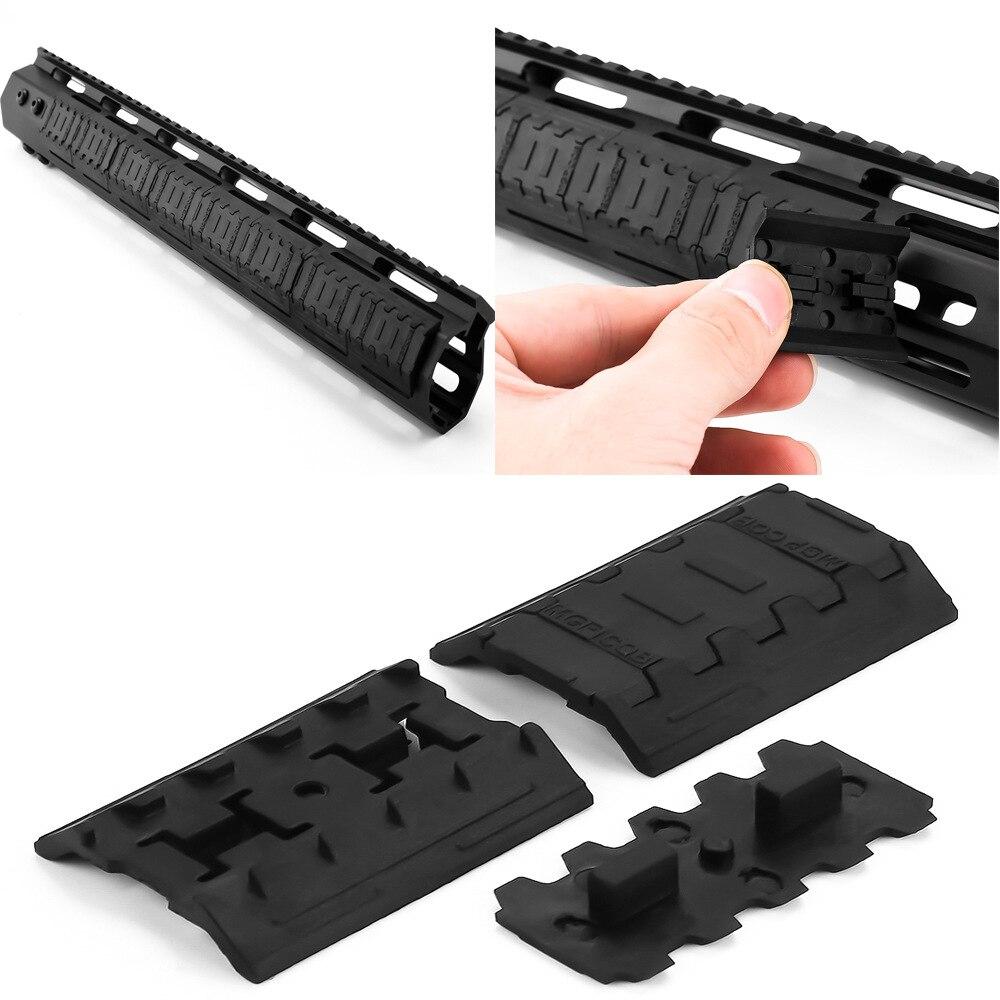 10 pcs Tactical Mlok Rail Covers M-lok SLOT SYSTEM Handguard Rail Panel Mount Hunting Gun Accessories