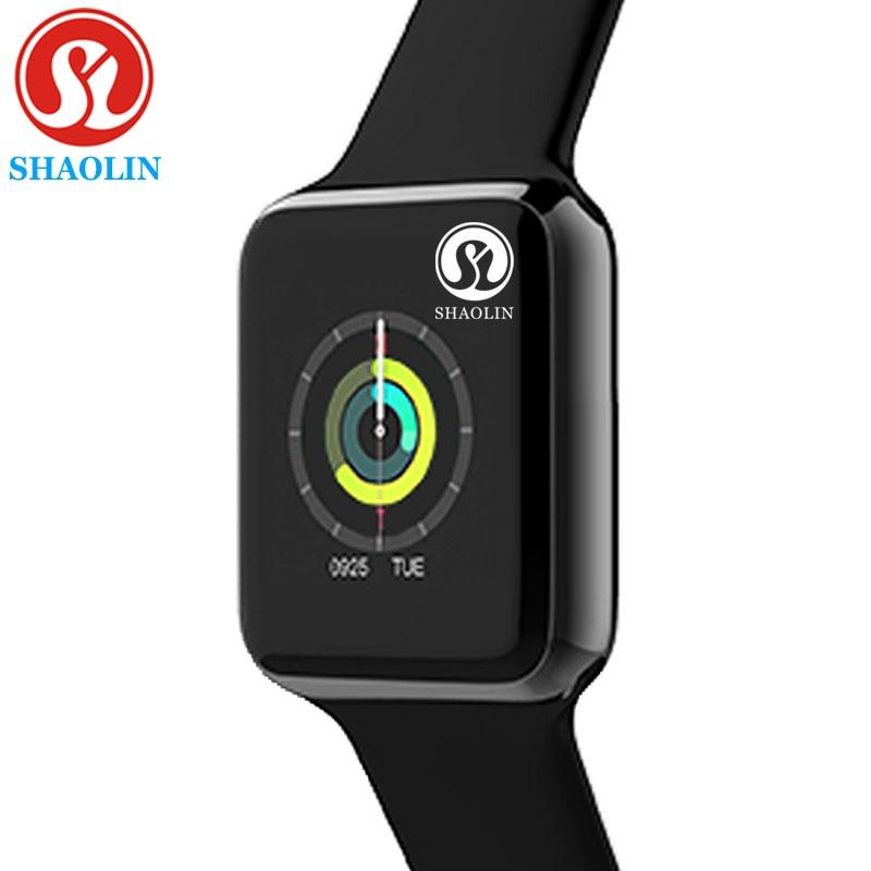 جديد بلوتوث ساعة ذكية للرجال النساء SmartWatch سلسلة 6 ل iOS آيفون أندرويد الهاتف أبل ساعة huaweiشاومي (زر أحمر)