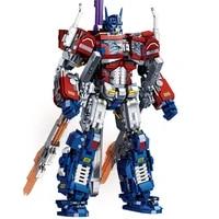 new moc optimus transformer prime robot star soldier action figures building blocks construction toys for boys children gift