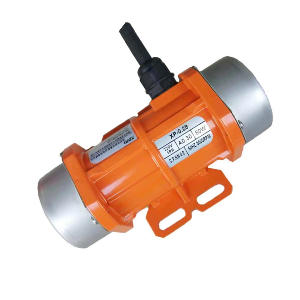 Silniki wibracyjne 220V AC jednofazowe 15W ~ 120W wodoodporne przemysłowe wibracyjne wytrząsarki do ekranów