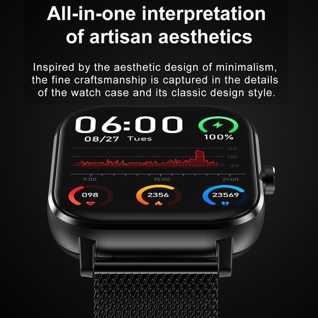 Reloj Inteligente Smart Watch Bluetooth Call IP67 ECG 2021 Smartwatch Men Sprot Smart Watch For Android Xiaomi Huawei IOS Iphone 2