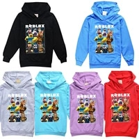 robloxing neutral kid hoodies for teen girls shirts cotton autumn long sleeve sweater tops boy tshirts clothes birthday gifts
