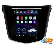 "12,1 ""estilo tesla pantalla vertical Octa core Android 8,1 coche GPS radio navegación para Nissan x-trail 2014-2017"