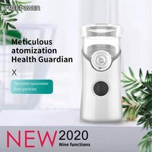 Portable USB Rechargeable Nébuliseur Inhalateur Atomiseur Pour Enfants Enfants Adultes Soins de Santé à Domicile Mini Nébuliseur Portable