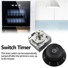 AC 15A/125 В переключатель времени 60 минут таймер переключатель металлический регулятор времени для электронной микроволновой печи аксессуары...
