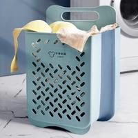 waterproof laundry basket foldable toy clothes organizer storage basket hamper dirty barrel laundry bucket with handles bathroom