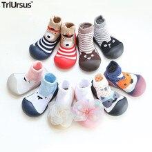 Attipas Baby Boys Girls Shoes Newborn Girls Boys Floor Socks Cartoon Infant Baby Foot Socks First Wa