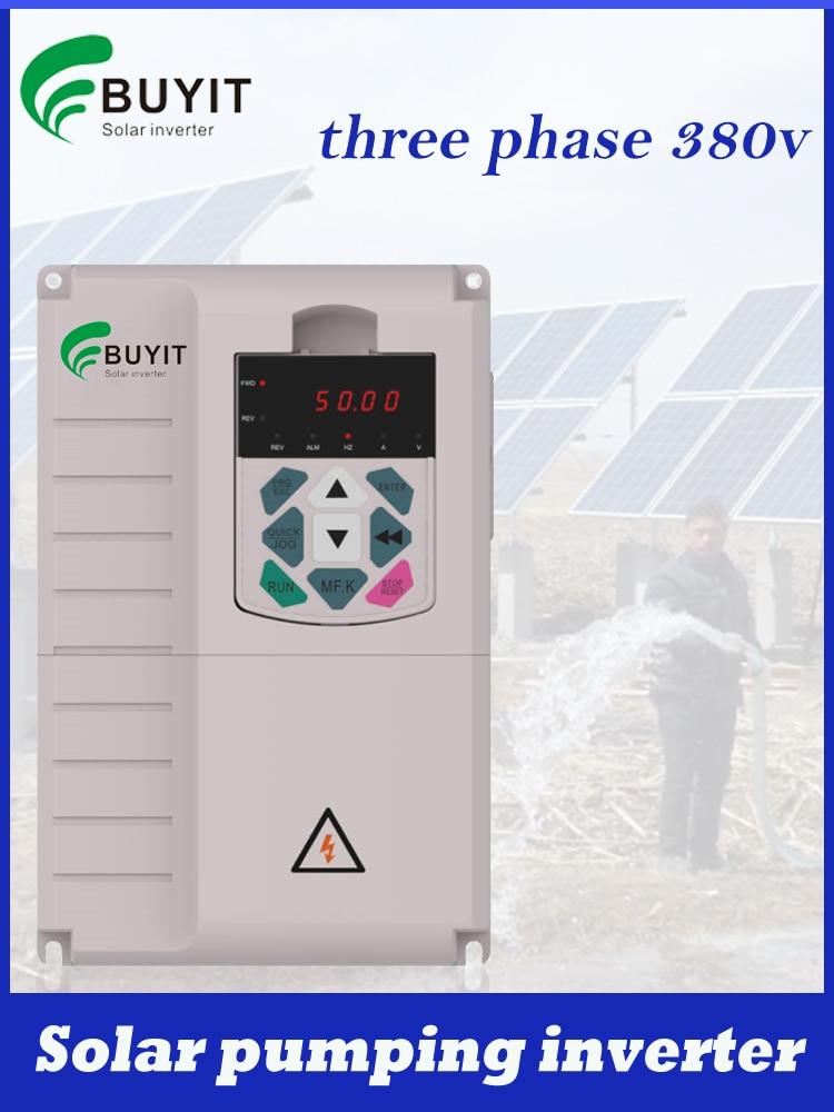 4kw 5.5kw 7.5kw 11kw ثلاث مراحل الشمسية ضخ العاكس MPPT العاكس PV بطارية أقل العاكس الزراعة العاكس
