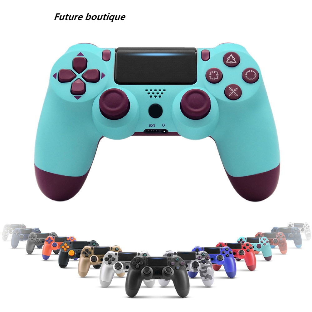 2021 Bluetooth Wireless Gamepad Controller for PS4 Playstation 4 Console Joystick Controller for PS4 Console