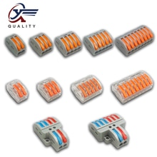 Wire Connector PCT-212 213 214 215 218 SPL-2 3 Universal Terminal 0.08-2.5mm Push-in electrical term