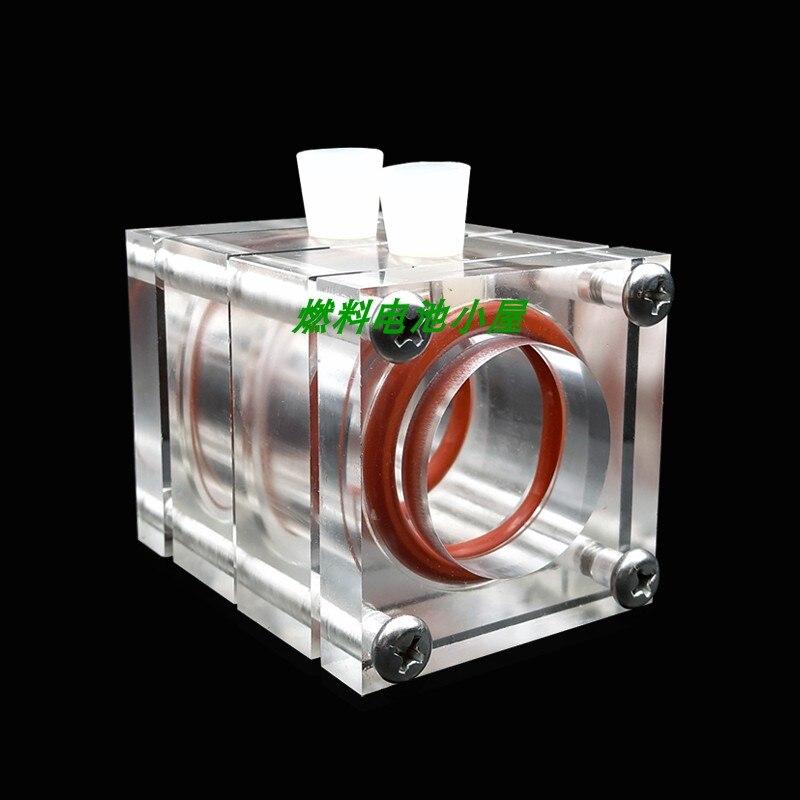 غلاف جهاز مفاعل خلية وقود الهيدروجين ، معدن MFC ، فارغ ، زنك ميكروبي ، ألومنيوم