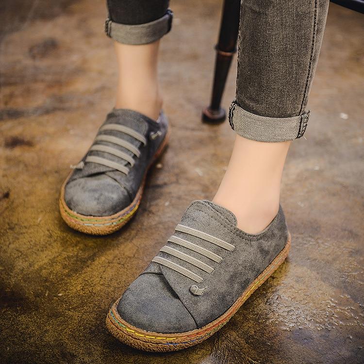 مسطحة القاع حذاء واحد الإناث الترفيه كلمة دواسة سميكة القاع دو دو غطاء حذاء الإناث القدم مريحة كسول الأحذية الإناث