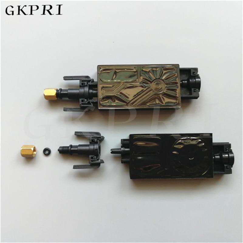 Envío Gratis Eco solvente/UV impresora Mimaki amortiguador de tinta DX5 para Epson DX5 TX800 cabezal de impresión UV tinta dumper con clips 16X