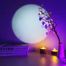1PC Moonlight Electric Torch Portable Flashlight Battery Opreated Outdoor Lighting Background Decoration Light