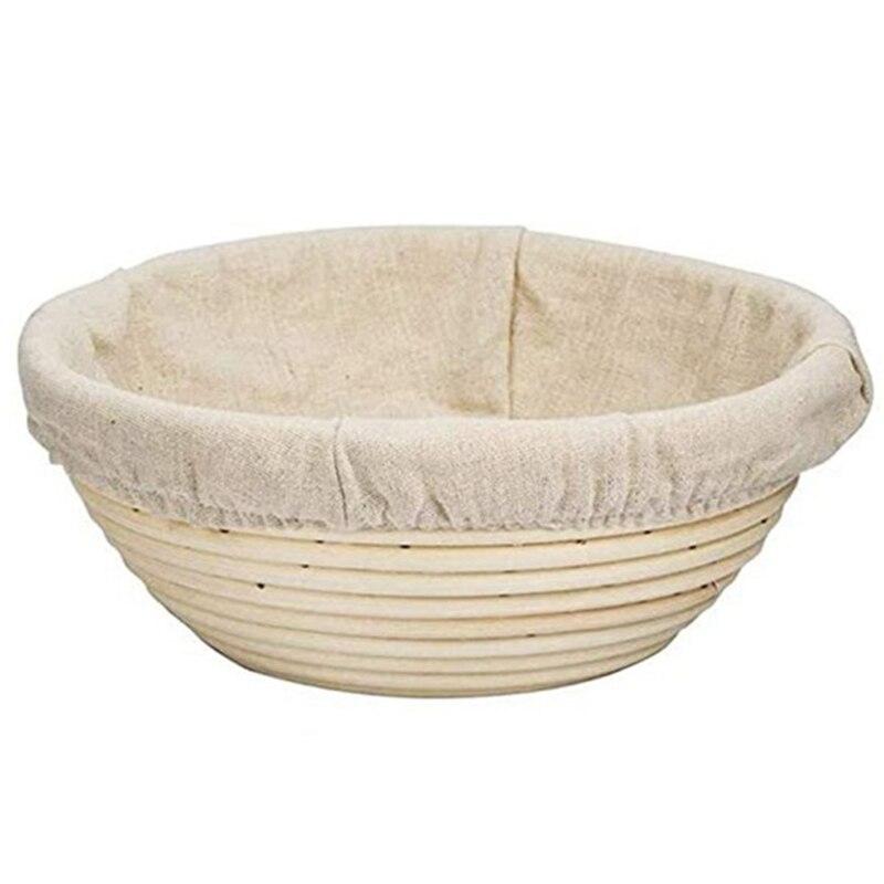 Pan prueba cesta-tazón de masa para hornear para panaderos que prueban cestas para la herramienta para hornear pan Starter Jar caja de prueba-Dropship