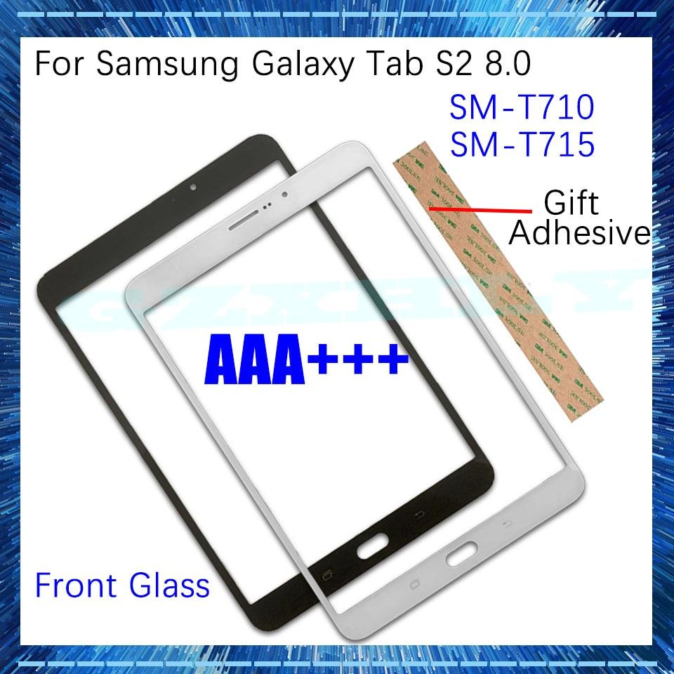 """Tela lcd de toque para substituição, painel externo de 8.0 """"para samsung galaxy tab s2 8.0 t710 t715"""