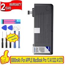 "100% New Battery for APPLE MacBook Pro 13 "" Unibody A1278 A1322 MC700 MC374 Mid 2009 2010 2011 2012 Batteries + free gfit"