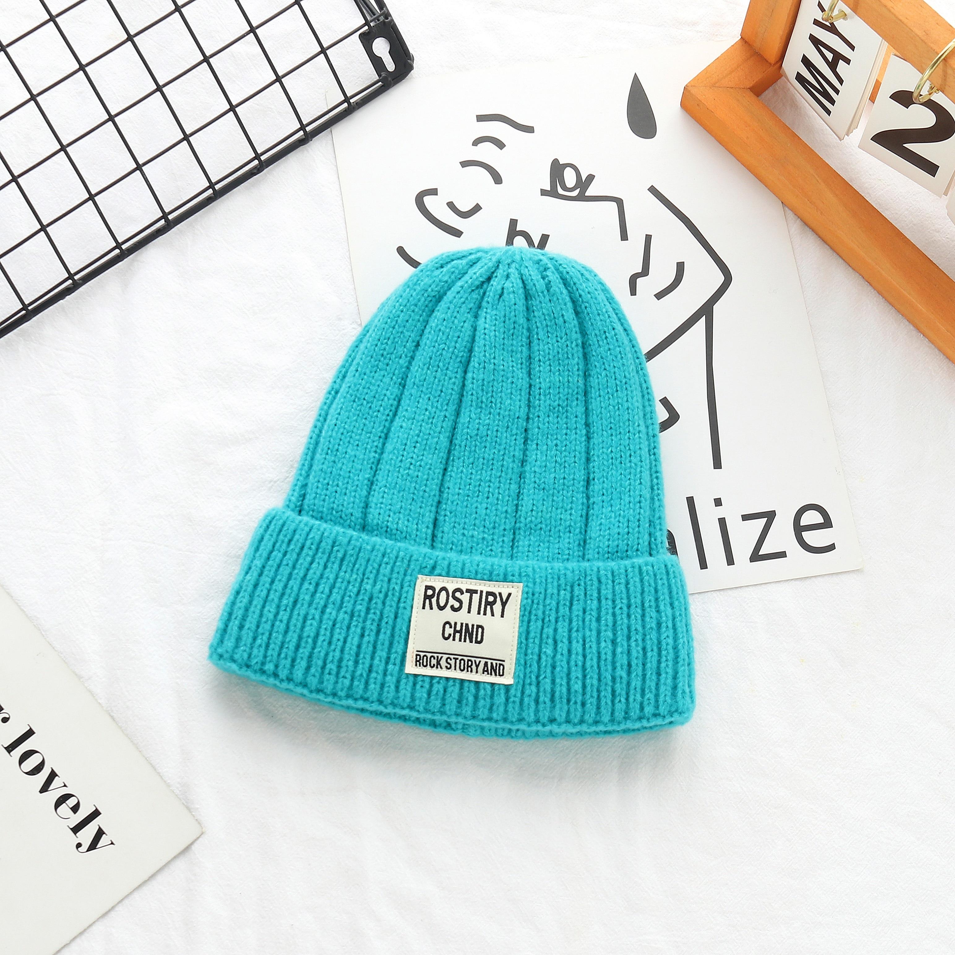 Новинка 2021, зимние шапки для мужчин и женщин, однотонные вязаные шапки, осенние женские шапки для девочек, теплые шапки