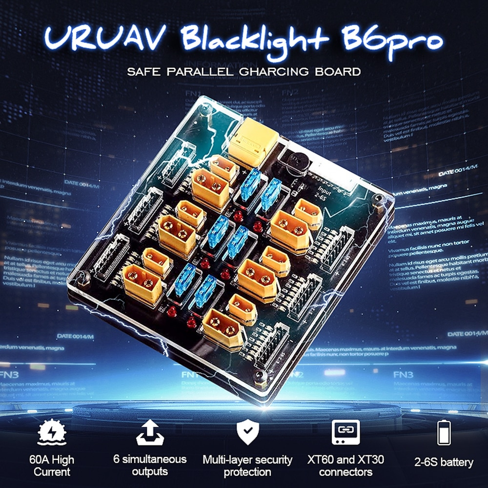 Плата зарядного устройства для IMAX B6, ISDT, Q6, HOTA, D6 Pro, P6, Blacklight, B6pro, 60A, XT60, XT30 Plug 2-6S Lipo, аксессуары для самостоятельной сборки