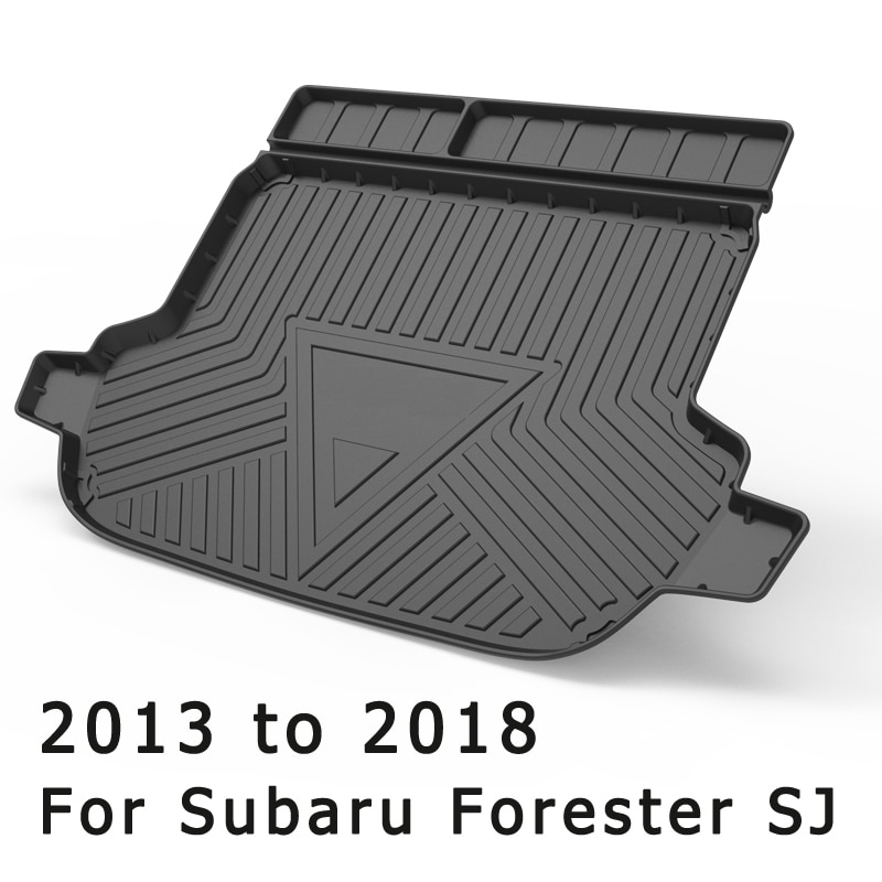 For Subaru Forester SK SJ Outback 2013 To 2021 Boot Mat Rear Trunk Liner Cargo Floor Tray Carpet Guard Protector Car Accessories enlarge