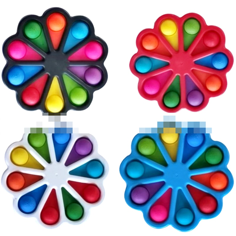 Fidget Simple Dimple Toy Fat Brain Toy Anti Stress Relief Hand Fidget Toys For Kids Adults Early Educational Autism Special Need enlarge