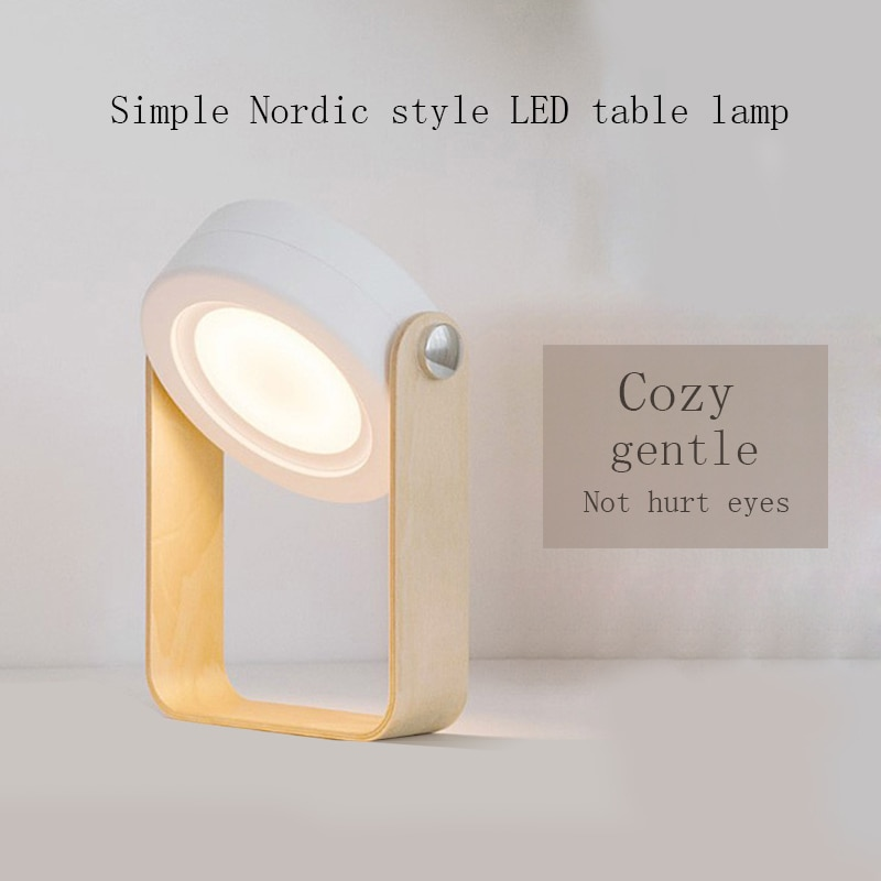 Multifunction Foldable LED Night Light USB Rechargeable Table Lamp Portable Dimmable Light for indoor lighting outdoor camping enlarge