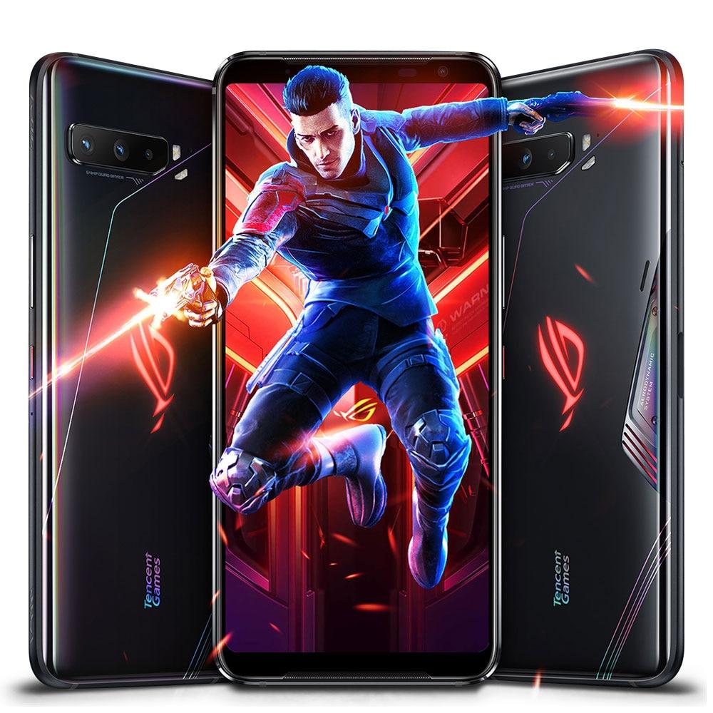 Фото4 - Новая глобальная прошивка Asus ROG 3 5G игровой телефон 6,59 дюйм. Snapdragon865/865 плюс 6000 мА/ч, 144 Гц FHD + безрамочный экран AMOLED NFC ROG Phone 3 ROG3 смартфон