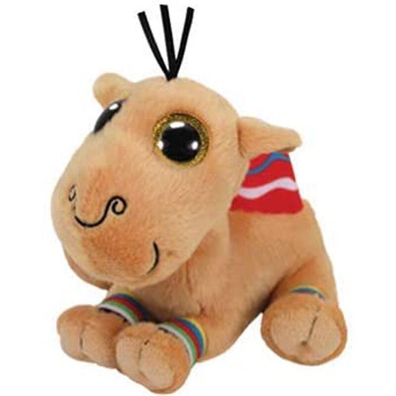 Ty Jamal, el camello de peluche, Animal, juguete de peluche, muñeca de regalo de 15cm