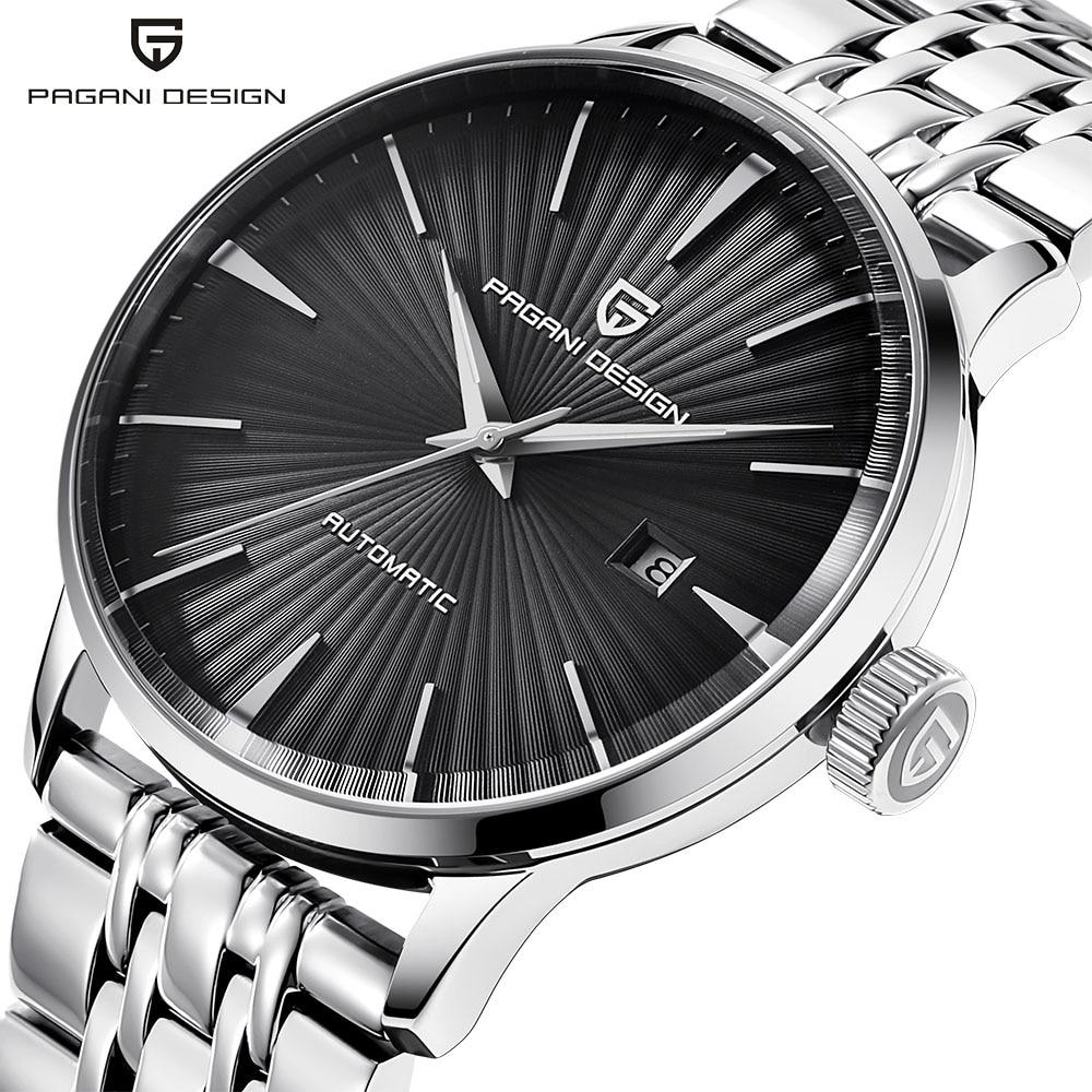 New Men's Mechanical Watches Top Brand Luxury Watch Steel Case Tourbillon Automatic Sports Watch Business Wristwatch Men